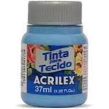 Tinta de Tecido Acrilex Azul Caribe 37Ml