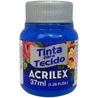 Tinta de Tecido Acrilex Azul Turquesa 37ML