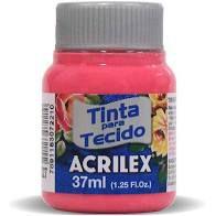 Tinta de Tecido Acrilex Pink 37ML