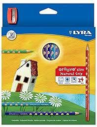 Lápis de Cor Lyra com 24 cores e Apontador