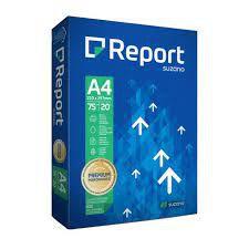 Papel Sulfite A4 Report Branco 75G 500 folhas