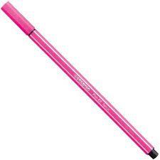 Caneta Stabilo 1.0 Pen 68/056 Rosa Neon