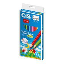 Lápis de Cor Cis Nataraj Super Color 4mm com 6 Unidades