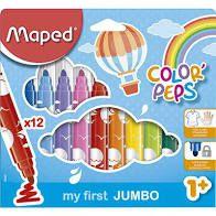 Hidrocor Maped Color Peps Jumbo com 12 Unidades