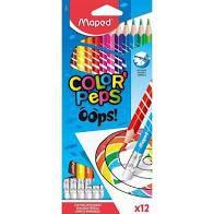 Lápis de Cor Maped Color Peps Apagável com 12 unidades
