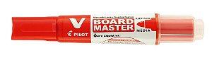 Marcador Quadro Branco Pilot Vermelho Board Master