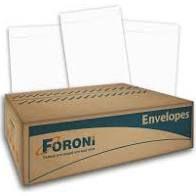 Envelope Branco 310X410mm Foroni caixa com 250