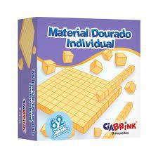 Material Dourado Ciabrink 62 peças