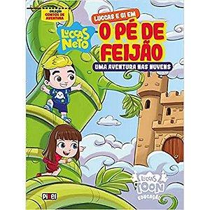 Luccas e Gi em O Pé de Feijão - Editora Curitiba