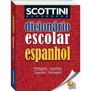 Dicionário Todo Livro Espanhol + 30.000 Verbetes