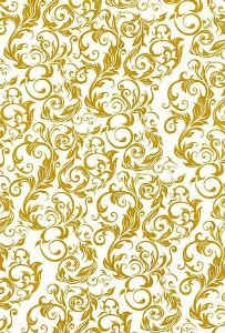 Papel Dupla Face Arabesco Dourado Premiatta 48x66cm