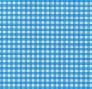 Papel Dupla Face Xadrez Azul/Bco Premiatta 48x66cm