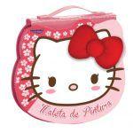 Maleta de Pintura Molin Hello Kitty Rosto com 70 itens