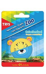 Apontador Tris Zoo Tigre com Depósito