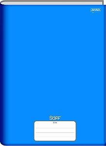 Caderno Jandaia 1/4 Stiff Azul Brochura 96 folhas