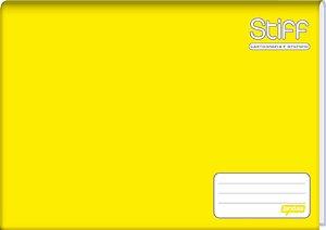 Caderno de Desenho Jandaia Stiff Brochura Vertical Amarelo