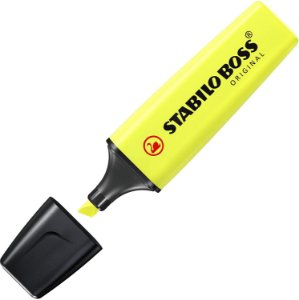 Marca Texto Stabilo Boss Amarelo Neon 70/24