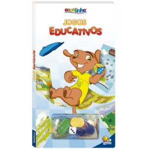 Escolinha Jogos Educativos - Editora Todo Livro