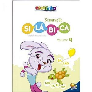 Escolinha Separação Silábica Volume 4 - Editora Todo Livro