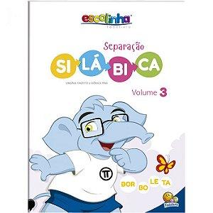 Escolinha Separação Silábica Volume 3 - Editora Todo Livro