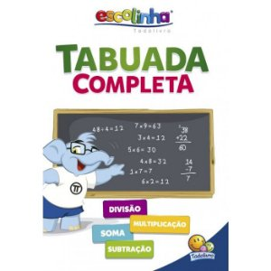 Escolinha Tabuada Completa - Editora Todo