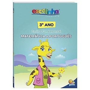 Escolinha Matemática e Português 3ºano - Editora Todo Livro