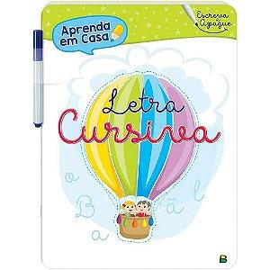 Escreva e Apague Letra Cursiva - Editora Todo Livro