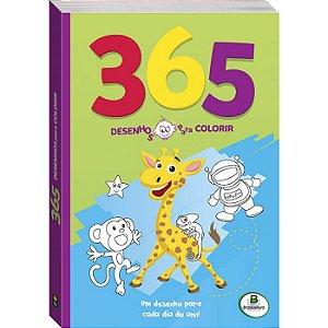 365 Desenhos para Colorir Verde - Todo Livro
