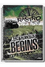 Caderno Credeal 1X1 Rastro Espiral 96 folhas