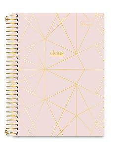 Caderno Cadersil 15x1 College Doux Rosa 240 folhas