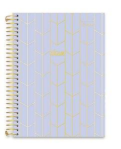 Caderno Cadersil 15x1 College Doux Lilás 240 folhas