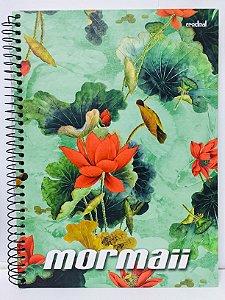 Caderno Credeal 1X1 Mormaii Espiral 96 folhas