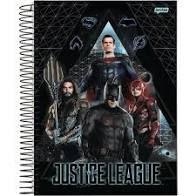 Caderno Jandaia 10X1 Liga da Justiça 4 Heróis League 200fls