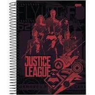 Caderno Jandaia 10X1 Liga da Justiça Heróis Vermelhos 200fls