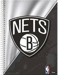Caderno Foroni 10X1 NBA Nets 200 folhas