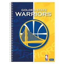 Caderno Foroni 10X1 NBA Golden State Warriors 200 folhas