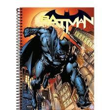 Caderno Foroni 10X1 Batman Gotham City 200 folhas