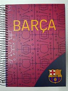 Caderno Foroni 10X1 Barcelona Barça 200 folhas