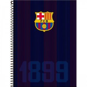 Caderno Foroni 10X1 Barcelona 1899 200 folhas