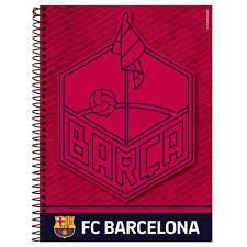 Caderno Foroni 10X1 Barcelona Fc Barcelona 200 folhas