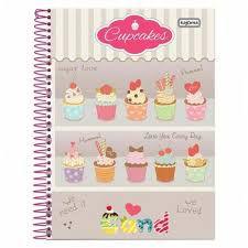 Caderno Kajoma 10X1 Cand Cupcakes 200 folhas