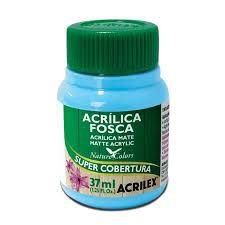 Tinta Acrilica Fosca Acrilex  Turquesa 37ML