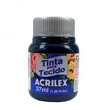 Tinta de Tecido Acrilex Azul Petróleo 37Ml