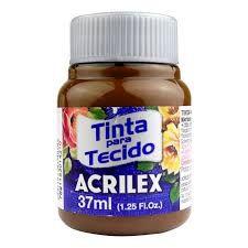 Tinta de Tecido Acrilex Jacarandá 37ML
