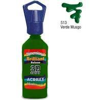 Dimensional Acrilex Verde Musgo 35Ml