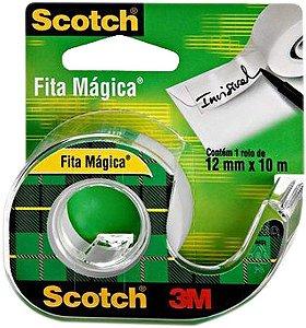 Fita Mágica 3M com Dispensador 12MMx10M