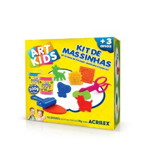 Kit de Massinhas Acrilex Art Kids 7
