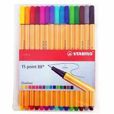 Kit Stabilo Point 88 com 12+3