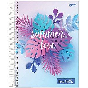 Caderno Jandaia 10x1 Stella Summer Love 160 folhas