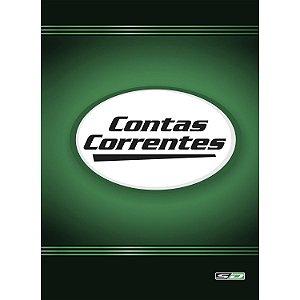 Livro Conta Corrente São Domingos 215X315mm 50 folhas